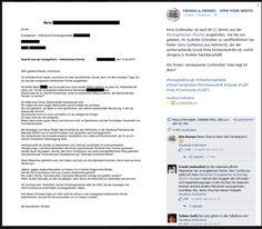 Kims Großmutter ist nach 84 (!) Jahren aus der #Evangelischen #Kirche ausgetreten. Sie hat uns gebeten, ihr Austritts-Schreiben zu veröffentlichen! Der Pastor Gero Cochlovius aus Hohnhorst, der der vorherrschende Grund ihres Kirchenaustritts ist, wohnt übrigens in direkter Nachbarschaft!  Wir finden: Konsequente Großmutter! Was sagt ihr dazu?  http://www.bild.de/news/inland/frau/tritt-nach-84-jahren-aus-kirche-aus-40544852.bild.html
