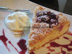 Schneller Butterkuchen mit Mandelkruste und Kirschen « kochen & backen leicht gemacht mit Schritt für Schritt Bilder von & mit Slava