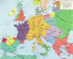 Europe In The Beginning Of The 14th Century History Historical
