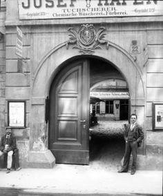 August Stauda, Wien 1, Alter Dompropsthof, 1901