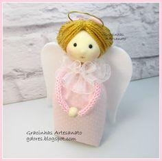 Angel sachet handmade by Gracinhas Artesanato