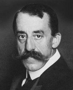 Henry van de Velde, a Belgian painter, architect and interior designer