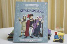 Sách Usborne Sticker Dressing Shakespeare