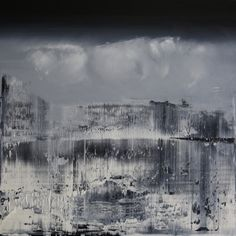 """harry moody """" representational abstract 1 """", oil on canvas"""