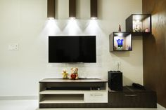 HomeLane: Full Home Interior Design Solutions, Get Instant Quotes. Beautiful Houses Interior, Beautiful Interiors, Entertainment Units, Free Interior Design, Wardrobe Design, Open Shelves, Chocolate Brown, Living Room Designs, Home Goods