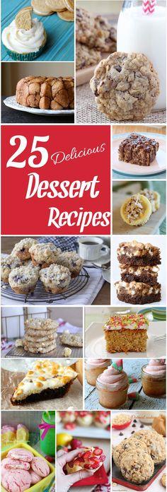 25 Delicious Dessert Recipes