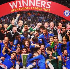 Chelsea FC, Europa League Winners