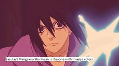 Sasuke's is black with red patterns, the rest is red with black patterns.