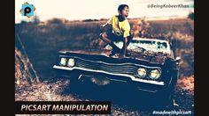PicsArt Tutorial : PicsArt Manipulation Tutorial Boy on Car