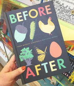 Eyeing Before & After! absolutely stunning wordless book illustrated by @annemargotramstein & @matthiasaregui check out that colour palette  it's my birthday soon...  #illustration #beforeafter #matthiasaregui #annemargotramstein