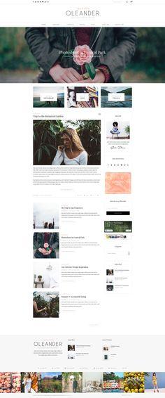 Bright, topic oriented women wordpress theme