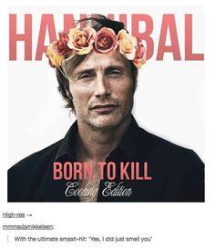 Hannibal's musical debut.