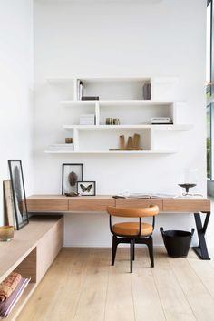 Leading 10 Stunning Home Office Style Home Office Space, Home Office Design, Home Office Furniture, Home Office Decor, Interior Design Living Room, Living Room Decor, Furniture Design, Office Style, Office Ideas