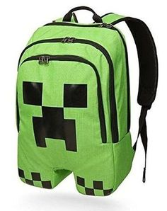 HOT Minecraft backpack high quality canvas Backpack