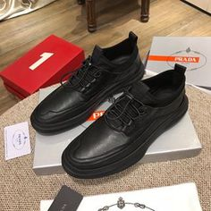 Casual Leather Shoes, Casual Shoes, Wholesale Shoes, All Black Sneakers, Prada, Album, Free Shipping, Products, Fashion