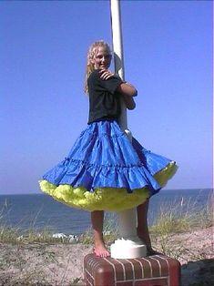 Petticoats, Tulle, Ballet Skirt, Satin, Pretty, Girls, Dresses, Fashion, Flowers