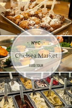 Chelsea Market Food Tour in New York, NY, USA Food tastings at Chelsea Market Restaurants, Walking Tour of Chelsea Market, High Line #newyork #foodtour #nyfoodtour