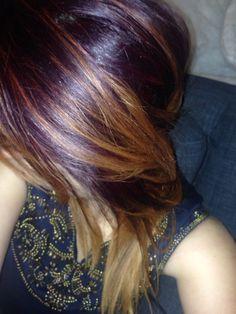 Jess's latest haircolour. #hair #beauty #fashion #bohemian #haircolour #haircolor