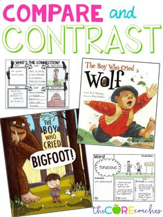 Compare and contrast The Boy Who Cried Wolf with The Boy Who Cried Bigfoot.