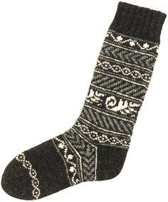 Ravelry: Svedia Socks pattern by SJ Griffin-free pattern Knitting Patterns Free, Free Knitting, Free Pattern, My Socks, Boot Socks, Fair Isle Knitting, Knitting Socks, Slipper Boots, Hand Warmers