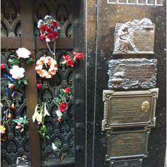 Eva Peron's crypt