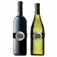 Amazon.com: AODE® Digital LCD Wine Bottle Thermometer Watch Temperature Checker For Home Bar C 100378: Home Improvement