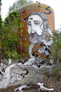 SeaCreative New Murals In Varese, Italy StreetArtNews