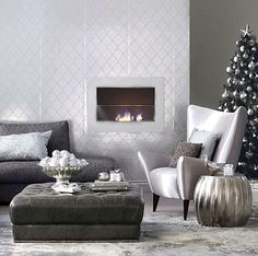 Gorgeous modern holiday decor