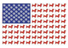 Dachshunds remember Memorial Day 2012