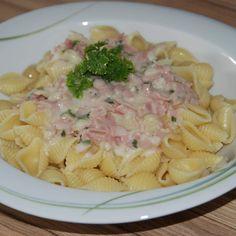 Rezept Schinken- Sahne Soße von Sus307 - Rezept der Kategorie sonstige Hauptgerichte