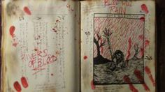 Page from the Naturom Demonto Evil Dead 2013