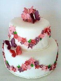 Το πεσμένο λουλούδι γύρισε στο κλαδί.  Ήταν πεταλούδα. Happy Birthday Wishes Cards, Happy Birthday Pictures, Birthday Greetings, Birthday Celebration, Happy Name Day, Party Central, Marker Art, Girl Cakes, Diy And Crafts