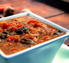 Ethiopian Vegetable and Lentil Stew