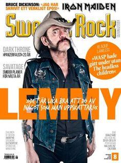 Lemmy - Sweden Rock Magazine Cover [Sweden] (October 2015)