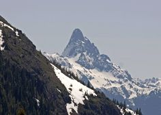 Mt Sleese and Border Peaks - Chilliwack, British Columbia