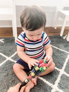 11 Simple, Developmental Fine Motor Activities for Infants 9-12 Months Old
