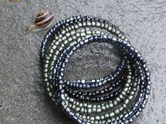 Biżuteria - TOHO w deszczu ze ślimakiem:-)