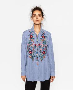 画像 2 の ポプリンシャツ ザラから