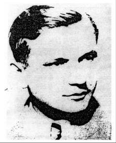 Jozef Gabčík. Photo from Červené barety. Spravodaj Klubu vojenských výsadkárov. Oblastný výbor Bratislava. Ročník II. Číslo 2. 15.5.2002. http://www.jpm.sk/CB/barety_22.pdf