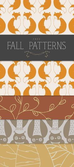 Hello, and welcome! How was your weekend? Ours was both fun and productive, so you can't argue with that. So, I'm pretty pumped about this freebie I'm offering today—I hope you are too! With fall just around the corner, these free fall patterns are the perfect thing to get your creative juices flowing and get …Continue Reading...