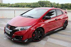 Honda Civic Type-R 2015 rouge
