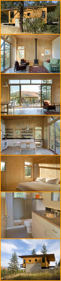 The cabin featured here is all about function and economy. See it here and let us know if it could be your escape from the rat race. http://theownerbuildernetwork.co/empm