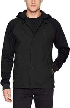 OSTELY Coat for Men Casual Autumn Winter Long Sleeve Hooded Zipper Fleece Warm Outdoor Jacket Outwear Top