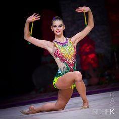 Alexandra Kis from Hungary #alexandrakis #hungary #rhythmicgymnastics #gymnastics #clubs #worldcup #worldcupbaku #agftrophy