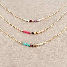 Short Minimalist Necklace