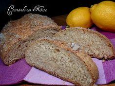 Cocinando con Kisa: Pan de cebada y limón (kitchenAid y horno tradicional)