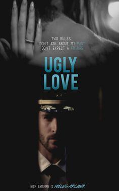 Ugly Love by Colleen Hoover Romance Movies, Romance Books, Movie Quotes, Book Quotes, Ugly Love Colleen Hoover, Book Hangover, Nick Bateman, Word Nerd, Book Boyfriends