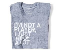 Tee shirt for bloggers!