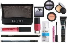 WIN 1 of 3 Limited Edition Gosh Make-Up Bags and Cosmetics worth each Gosh Cosmetics, Diva Fashion, Blush, Eyeshadow, Make Up, Lipstick, Skin Care, Stuff To Buy, Rouge