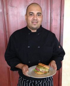 Chef Juan Carlos of the BODY Cafe has vegetarian food on his mind - even down to a quinoa burger!